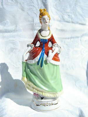 Victorian Lady, Occupied Japan, Figurine, Porcelain Excellent Cond.