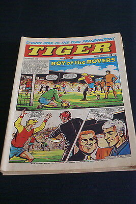 Tiger And Jag  Vintage Comic 31 March 1973