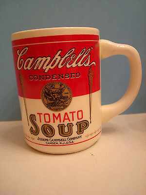 CAMPBELL'S TOMATO SOUP MUG, made in USA, excellent glossy condition