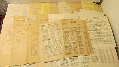 LOT 1951 1952 1953 1954 SPECIAL ORDERS USAF FROM MANY AIR FORCE BASES 30+ ORDERS