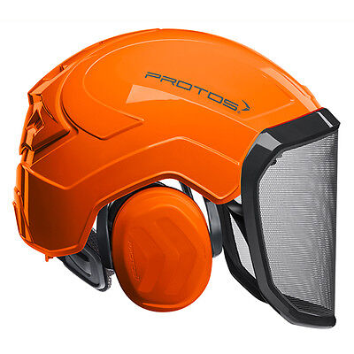 Protos Integral Forest orange Pfanner Helm Forsthelm Schutzhelm Forst Kopf