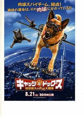 Japan - Flyer/chirashi - Cats And Dogs