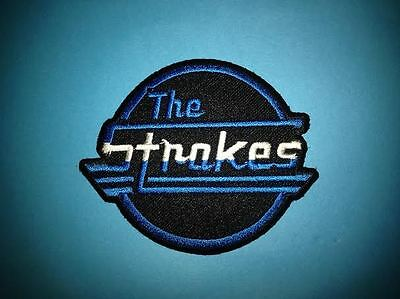 The Strokes Hard Rock Music Iron On Hat Jacket Backpack Hoodie Metal Patch Crest