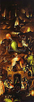 Hieronymus Bosch 23 Artist Painting Reproduction Handmade Oil Canvas Repro Deco