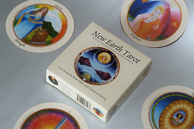 New Earth Tarot Deck, LIMITED FIRST EDITION, Damaged Box, Price Reduced