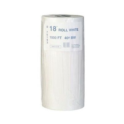 Duro Bag Butcher Wrap Freezer Paper Roll 18 in x 1000 ft - White
