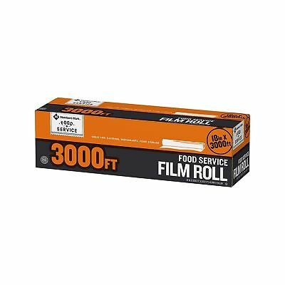 Daily Chef Food Service Film Saran Plastic Food Storage Wrap 18 in x 3000 ft