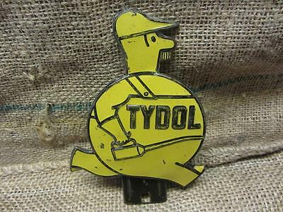 Vintage Embossed Tydol Gasoline Tag Sign > Antique Gas Oil Station Auto 9322