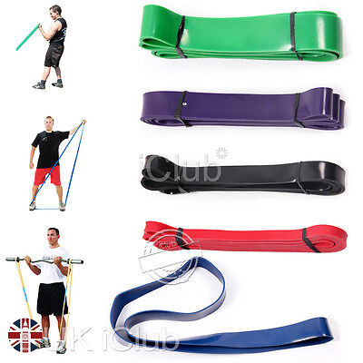 Heavy Resistance Crossfit Bands Loop Training Fitness Exercise Strength Weight