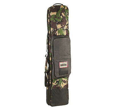 ROME ESCORT CAMOUFLAGE CAMO BLACK SNOWBOARD BOARD BAG with WHEELS 162cm 3.5kg