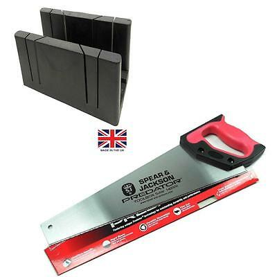 Spear & Jackson  Toolbox Saw + British Mitre Box Mitres & Picture Framing Maxi