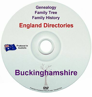 Family History Tree Genealogy Directories Post Office Trades Buckinghamshire New