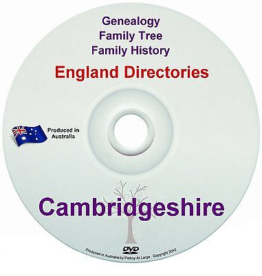 Family History Tree Genealogy Directories Post Office Trades Cambridgeshire New