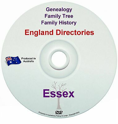 Family History Tree Genealogy Directories Post Office Trades Essex New DVD