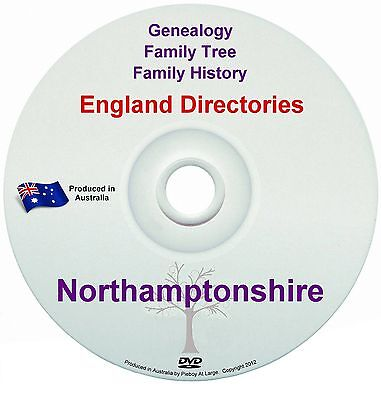 Family History Tree Genealogy Directories Post Office Trades Northamptonshire