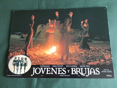 The Craft - Neve Campbell - Original Spanish Lobby Card - 9.5 X 13 -  #2