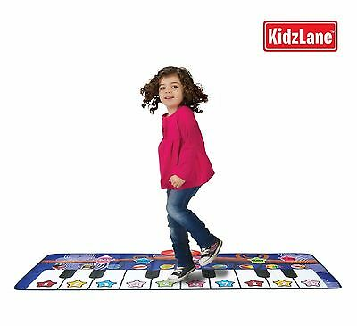 Piano Dance Mat for Kids, 10 Selectable Sounds + Play -Record -Playback