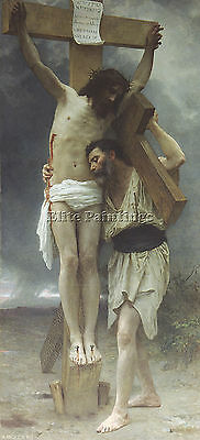 William Bouguereau Compassion Artist Painting Reproduction Handmade Oil Canvas