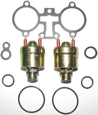 Set of TWO FACTORY REMAN Flow Matched GM TBI Injectors 1987-96, 5.7L, # 5235206