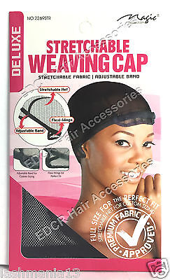 ADJUSTABLE BAND STRETCHABLE WEAVING Wig/CAP DELUXE NEW THE BEST** #226STR NEW
