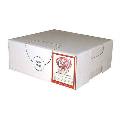 Dr. Pepper Syrup Concentrate Soda Pop Bag N Box Gallon (Makes 6 Gallons)