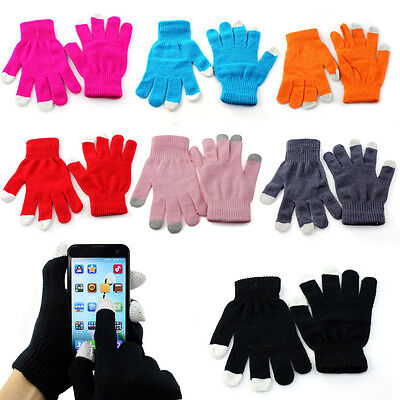 Touch Screen Gloves Texting Winter Knit for Smartphone iphone I9300 Stylish