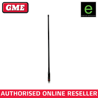 Gme Aw4705B Black Uhf Antenna Whip To Suit Ae4705B