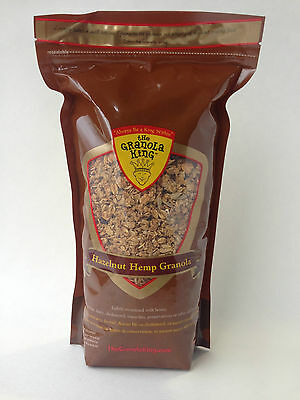The Granola King Hazelnut Hemp Granola 750g Bag