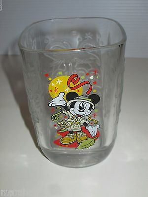 Walt Disney World Mcdonalds Restaurant  2000 Millennium Glass Animal Kingdom