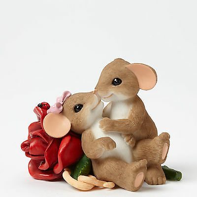 Charming Tails Loving You is My Passion Mouse Figure 4043849 Love Couple NEW