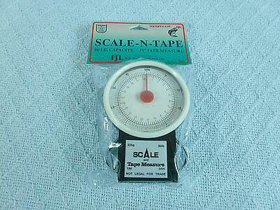 Deluxe Fish Scale - 50lb + tape LARGE DIAL #FS-4-50 ( KVSFCP643R0118)