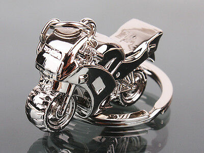 Motorcycle Key Ring Bag Purse Chain Motor Silver New Fashion Cute Lover Gift