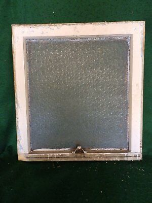 Antique Window Sash Florentine Privacy Glass 23 X 22 Old House Bathroom 4533-15