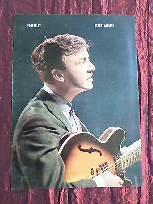 Gerry Marsden - Rock /pop Music - 1 Page  Picture- Clipping/cutting