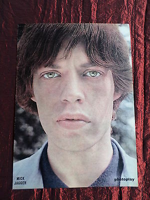 Mick Jagger - Rock /pop Music - 1 Page  Picture- Clipping/cutting