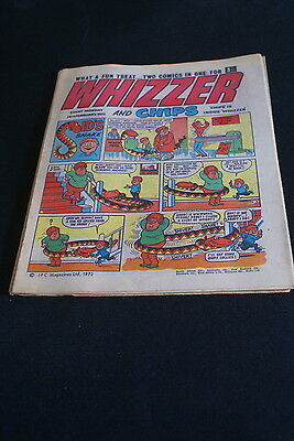 Whizzer And Chips  Vintage Comic 26 February 1972