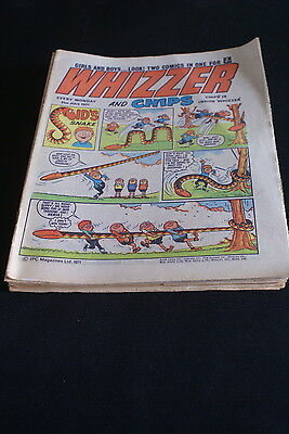 Whizzer And Chips  Vintage Comic 31 July 1971