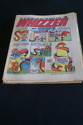 Whizzer And Chips  Vintage Comic 19 February 1972