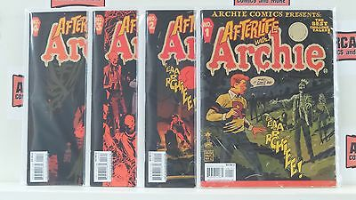 Afterlife with Archie Magazine #1 2 3 4 Zombie Comics in Magazine Format