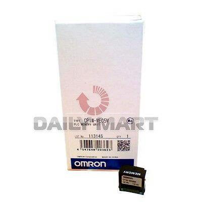 Omron Cp1W-Me05M Memory Card Casette Plc Expansion Module New In Box