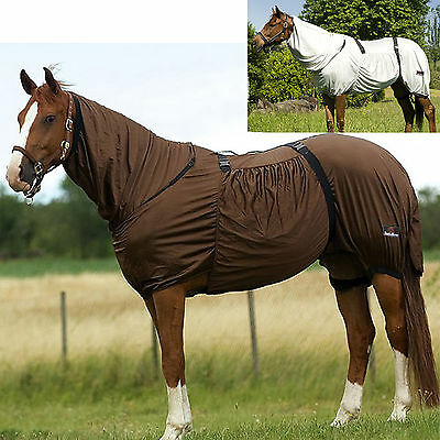 Pony Horse Fly Midge Eczema Combo Rug Breathable Cover Summer Blanket All Sizes
