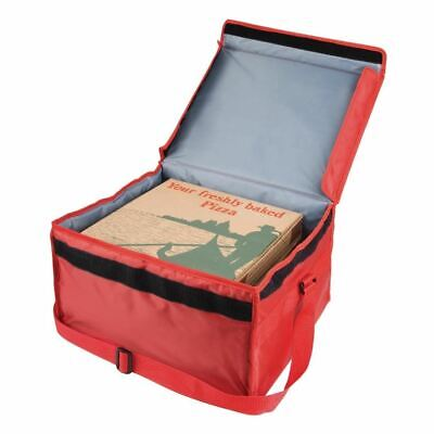 Vogue Nylon Insulated Hot And Cold Pizza Food Delivery Bags 355X380X380mm