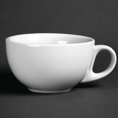 Athena Hotelware Cappuccino Cups 285ml Made of Porcelain Pack of 12