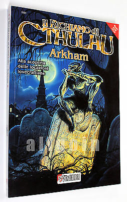 Il Richiamo di Cthulhu ARKHAM LOCATION LOVECRAFTIANE 2011 Stratelibri #1111 NEW