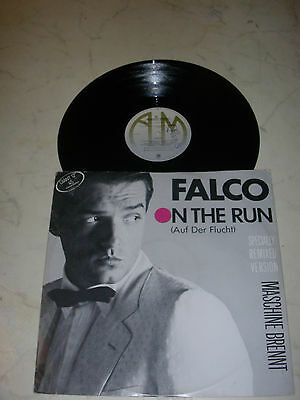 FALCO On The Run(Auf Der Flucht) Special Remixed Version LIMITED *NEW ZEALAND*