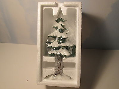 Dept 56 Village Accessory Village Porcelain Pine Large