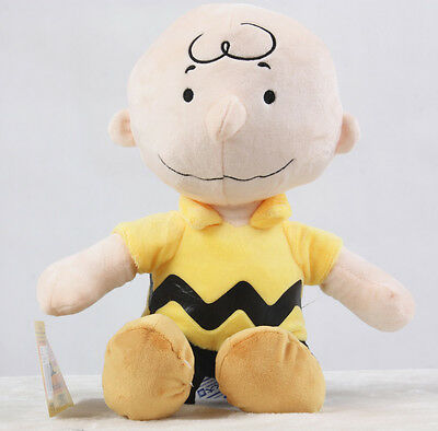 "New PEANUTS Plush Doll 12"" Charlie Brown 12"" Plush Doll Toy Cute Gift"