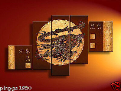 5 pieces Large canvas NO frame. Asian Art Oil Painting(no framed) P051