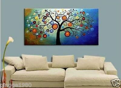 MODERN ABSTRACT HUGE WALL ART OIL PAINTING (NO frame) P068