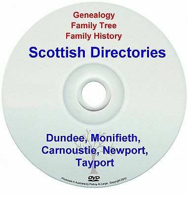 Family History Genealogy Scotland Dundee Monifieth Carnoustie Newport Tayport